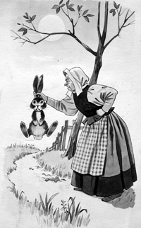 A Rabbit By The Ears (Original)