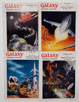 Galaxy Science Fiction – early issues