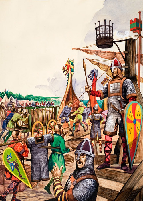 saxon warriors and norman invaders by peter jackson at the