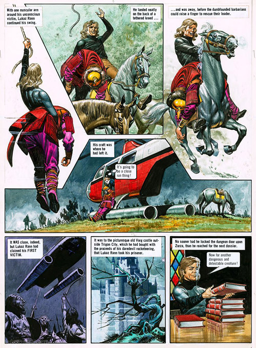 The Trigan Empire. Serialised in Look and Learn, this book ...