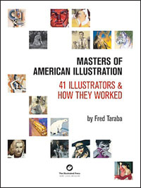 Masters of American Illustration: 41 Illustrators & How They Worked (Limited Edition)