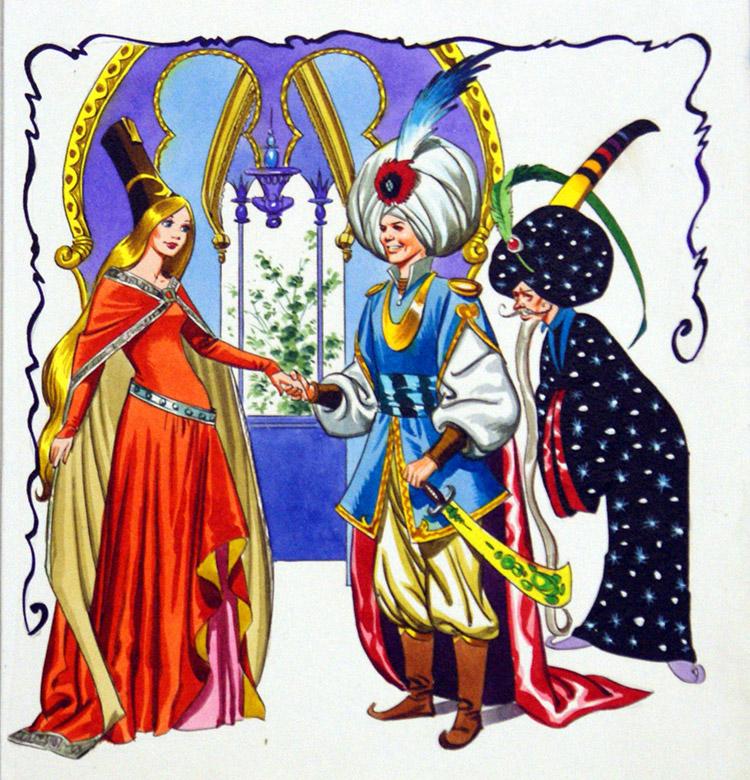 Wayne Marigold Princess Image: Too Many Turbans By Nadir Quinto At The Illustration Art Gallery