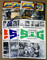 Supermarionation Is Go #s 4, 5, 6, 18, 19, 20 (6 issues)
