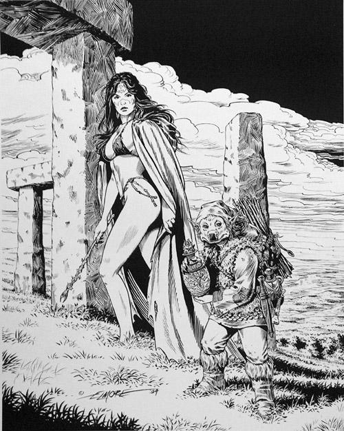 LARRY ELMORE (dessins) SQPPSilverSteel1